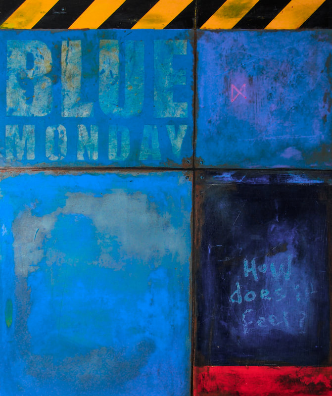 Blue Monday by Steve Wilde