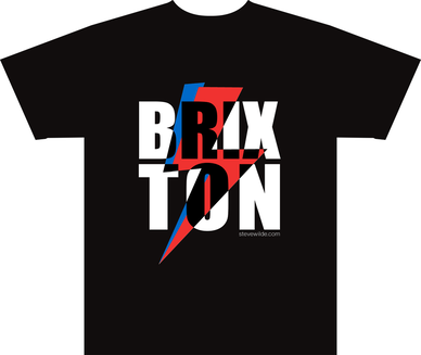 Steve Wilde art artist Brixton t-shirt graphic design