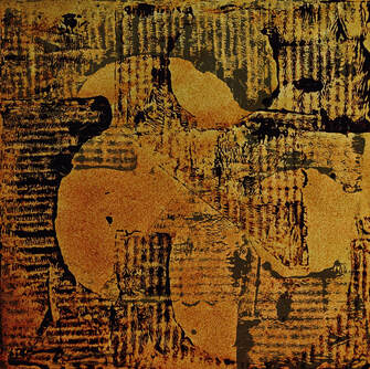 Digitally manipulated collagraph - Steve Wilde