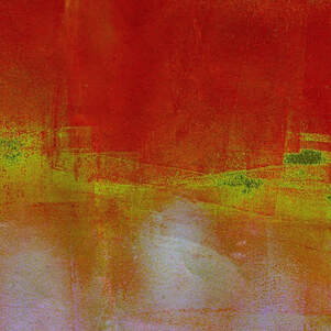 Digitally manipulated monoprint